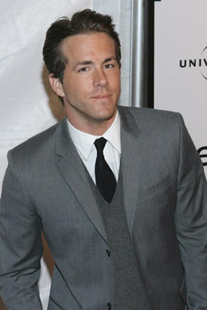 "Actor Ryan Reynolds at the N.Y. premiere of ""Definitely, Maybe."""