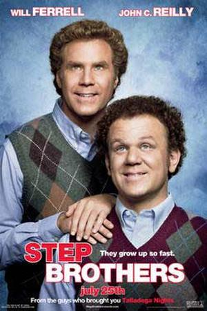 "Poster art for ""Step Brothers."""