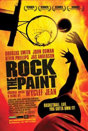 """Poster art for """"Rock the Paint."""""""
