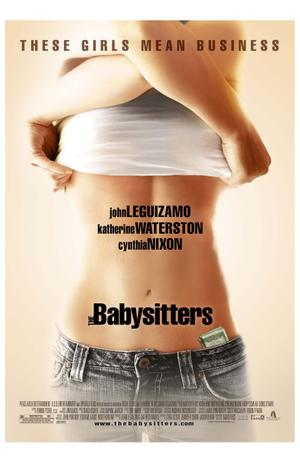 "Poster art for ""The Babysitters."""