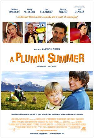 """Poster art for """"A Plumm Summer."""""""