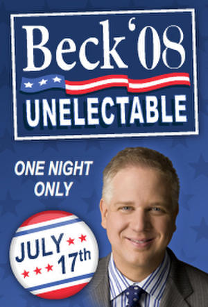 "Poster art for ""Beck '08 Live."""