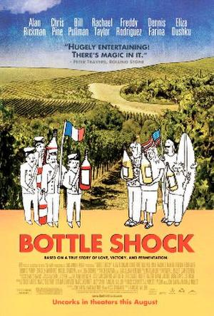 "Poster art for ""Bottle Shock."""