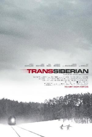 """Poster art for """"Transsiberian."""""""