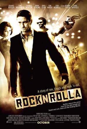 "Poster art for ""RocknRolla."""