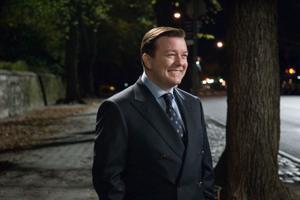 "Ricky Gervais as Bertram Pincus in ""Ghost Town."""