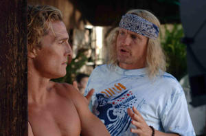 "Matthew McConaughey in ""Surfer, Dude."""