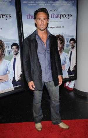 """Sebastian Siegel at the New York premiere of """"Tyler Perry's The Family That Preys."""""""