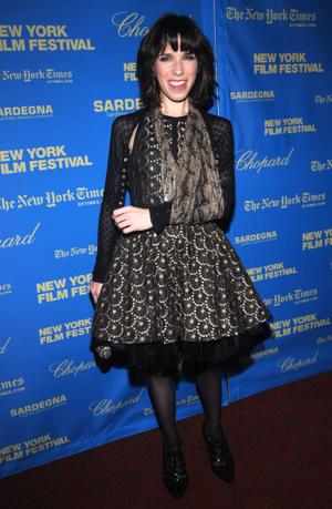 """Sally Hawkins at the New York premiere of """"Happy-Go-Lucky"""" during the 46th New York Film Festival."""