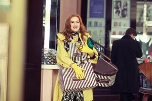 "Isla Fisher in ""Confessions of a Shopaholic."""