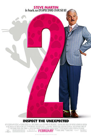 "Poster art for ""Pink Panther 2."""