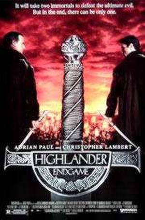 """Poster art for """"Highlander: Endgame."""""""