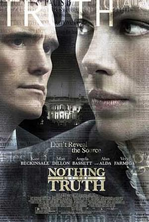 "Poster art for ""Nothing But the Truth."""