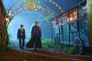 "Chris Massoglia as Darren Shan and John C. Reilly as Larten Crepsley in ""The Vampire's Assistant."""