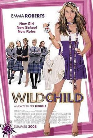 """Poster Art for """"Wild Child."""""""