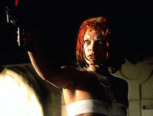 "Milla Jovovich in ""The Fifth Element."""
