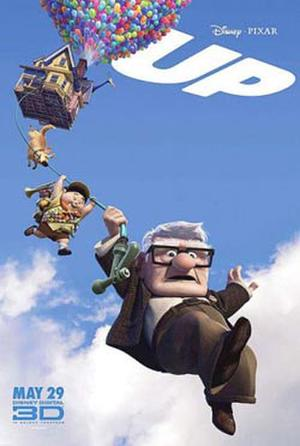 """Poster art for """"UP."""""""