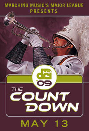 "Poster art for ""DCI 2009: The Countdown."""