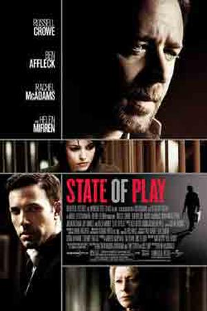 """Poster art for """"State of Play."""""""