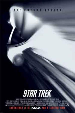 "Poster art for ""Star Trek: The IMAX Experience."""