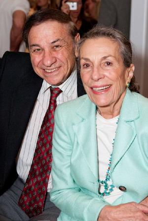 """Richard M. Sherman and Diane Disney Miller at the world premiere of """"The Boys: The Sherman Brothers' Story."""""""