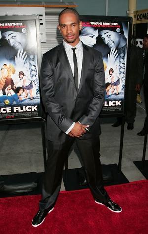 "Damon Wayans Jr. at the California premiere of ""Dance Flick."""