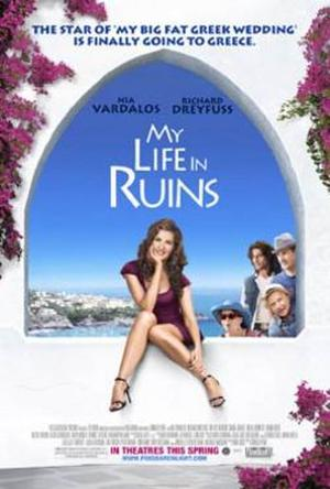 "Poster art for ""My Life In Ruins."""