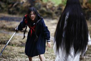 "Gianna Jun as Saya in ""Blood: The Last Vampire."""