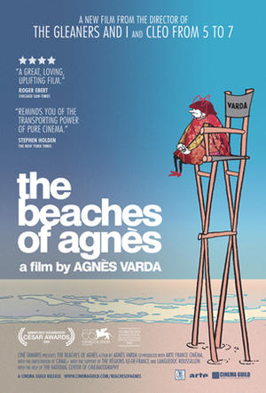"""Poster art for """"The Beaches of Agnès."""""""