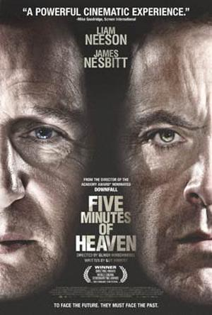 """Poster art for """"Five Minutes of Heaven."""""""