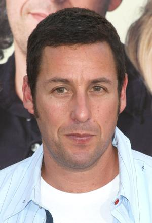 "Adam Sandler at the California premiere of ""Funny People."""
