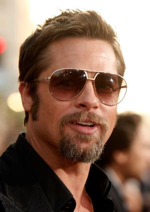 "Brad Pitt at the California premiere of ""Inglorious Basterds."""