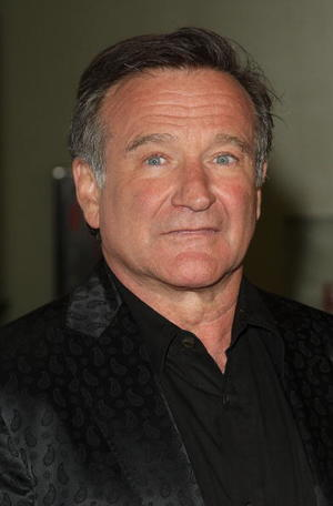 """Robin Williams at the California premiere of """"World's Greatest Dad."""""""