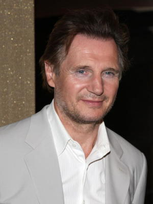 """Liam Neeson at the New York premiere of """"Five Minutes of Heaven."""""""