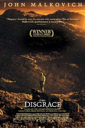 "Poster art for ""Disgrace."""