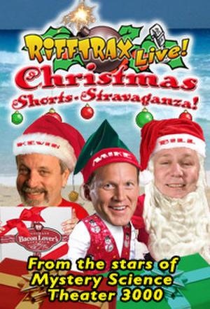 "Poster art for ""RiffTrax LIVE: Christmas Shorts – Stravaganza!"""