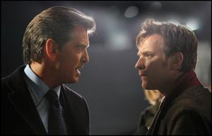 "Pierce Brosnan and Ewan Mcgregor in ""The Ghost Writer."""