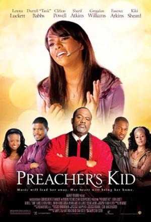 """Poster art for """"Preacher's Kid."""""""
