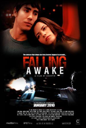 """Poster art for """"Falling Awake."""""""
