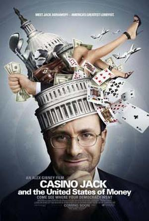 "Poster art for ""Casino Jack and the United States of Money."""