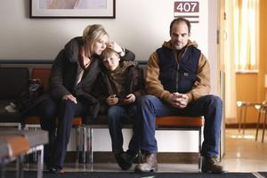 "Kristin Booth as Wendy, Dakota Goyo as Jack and Michael Kelly as Paul Carter in ""Defendor."""