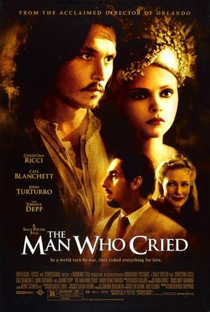 "Poster art for ""The Man Who Cried."""