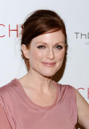 "Julianne Moore at the New York premiere of ""Chloe."""