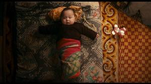 "Bayarjargal, who lives in Mongolia with his family in ""Babies."""