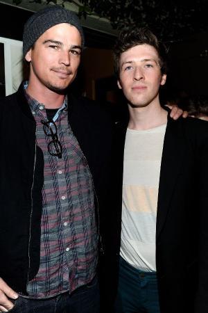 """Josh Hartnett and Daryl Wein at the California premiere of """"Breaking Upwards."""""""