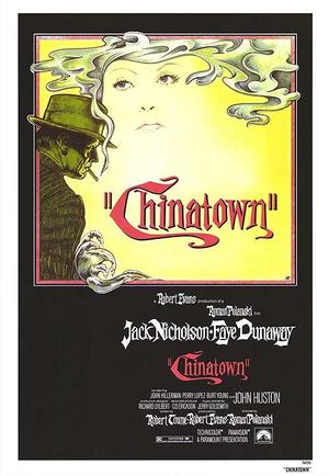 "Poster art for ""Chinatown."""