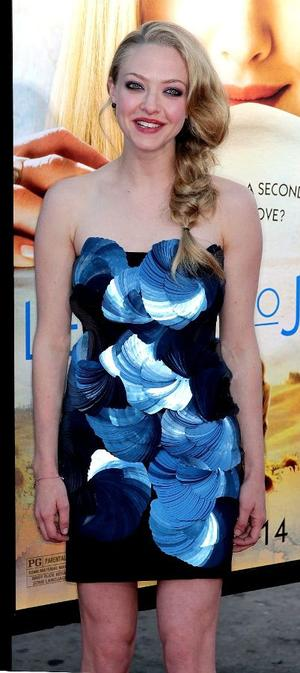 "Amanda Seyfried at the California premiere of ""Letters to Juliet."""