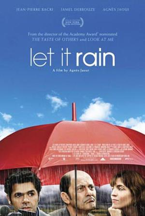 "Poster art for ""Let it Rain."""