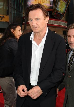 "Liam Neeson at the California premiere of ""The A-Team."""