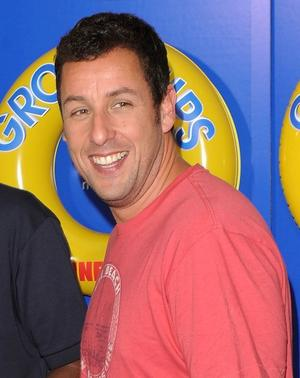 "Adam Sandler at the New York premiere of ""Grown Ups."""